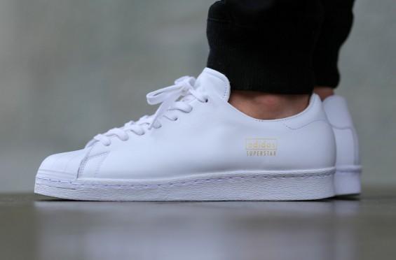 adidas superstar 80s all white