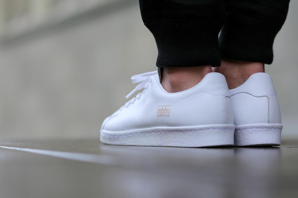 "detailed look c0888 d9be0 adidas Superstar 80s Clean ""White"" • KicksOnFire.com"