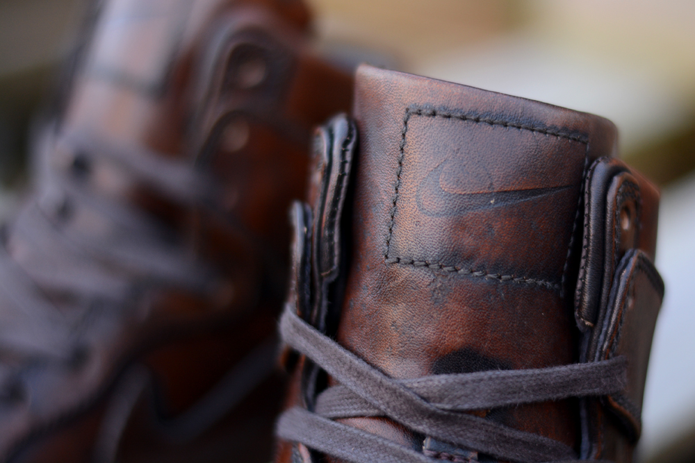"""new product ab087 cccc0 A Premium Classic  Nike Dunk High """"Burnished Leather"""""""