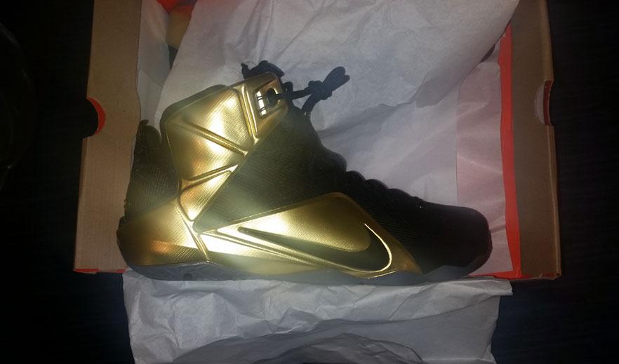 "super popular 2d605 97271 Nike LeBron 12 ""Grammy"" PE • KicksOnFire.com"