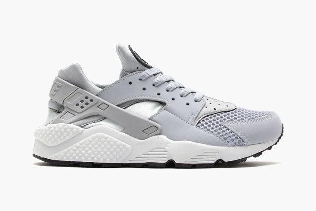 buy online 0889c 3fa08 Nike Air Huarache - Wolf Grey / Pure Platinum • KicksOnFire.com