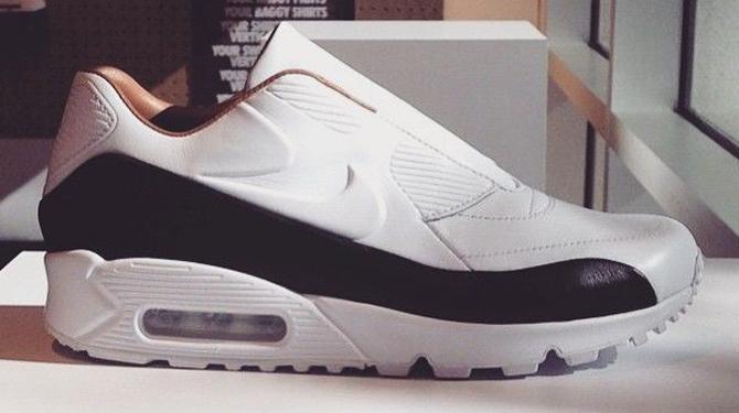 "Sacai x Nike Air Max 90 Slip On ""White"