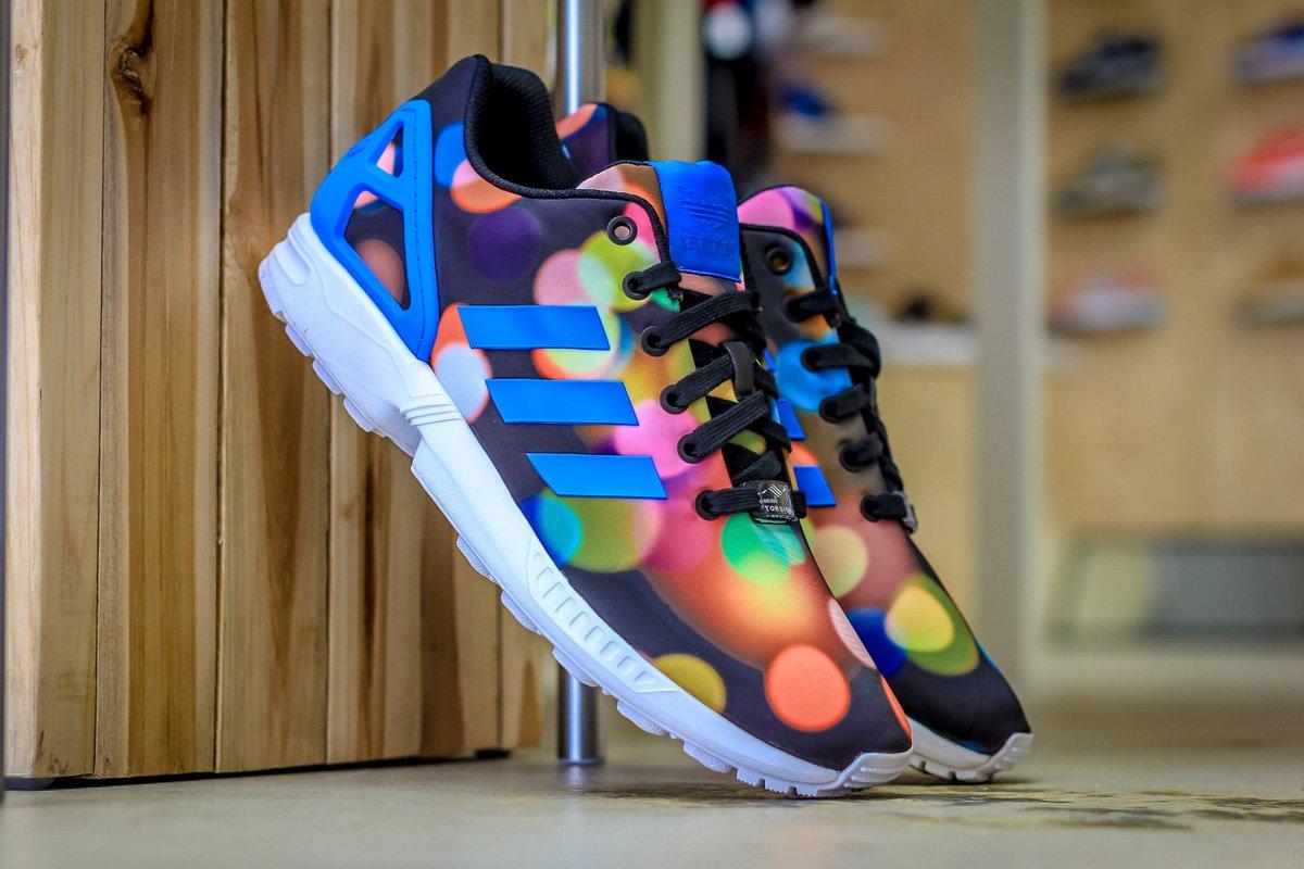 adidas Shoes | Originals Zx Flux City Lights Sneakers | Poshmark