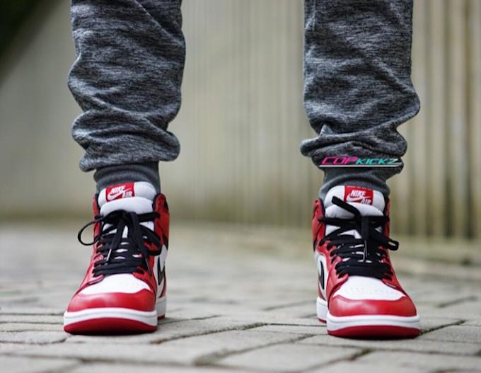 buy \u003e jordan 1 chicago 2015 on feet, Up