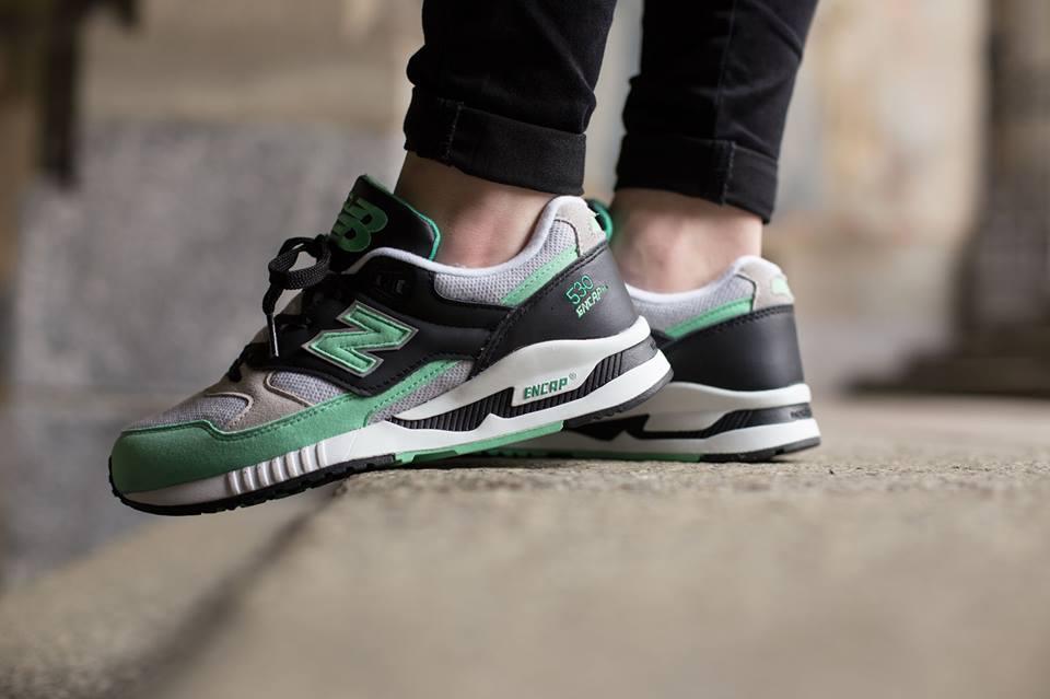 new balance 530 verde