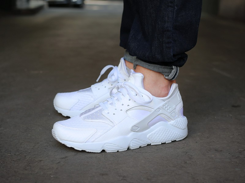 Release Date: Nike Air Huarache - White / Pure Platinum ...