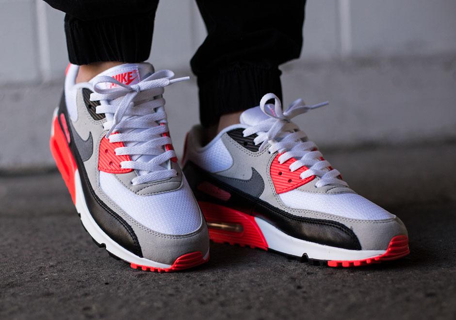 """Nike Air Max 90 OG """"Infrared"""" skor<3 Timée skor<3  Timée"""