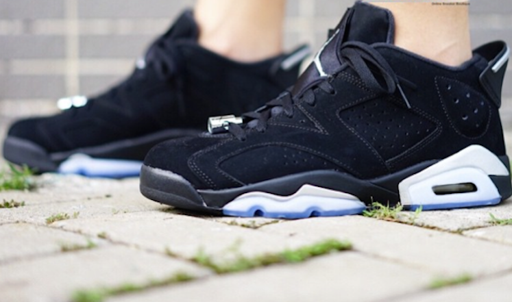 check out 031d8 717db On-Foot Images for the Air Jordan 6 Low