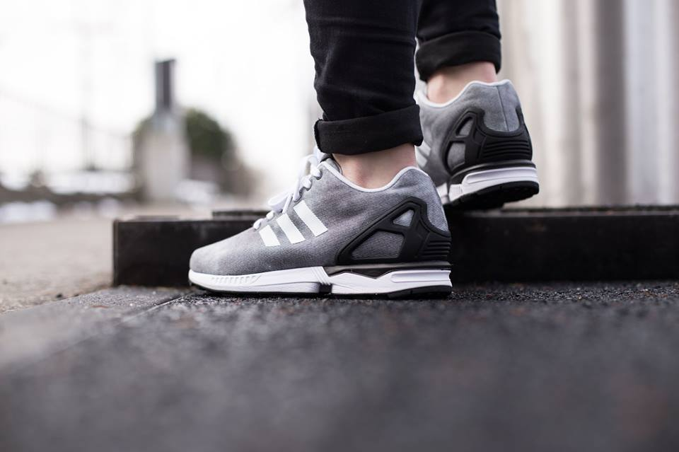 Greyscale lands on the latest adidas ZX Flux •