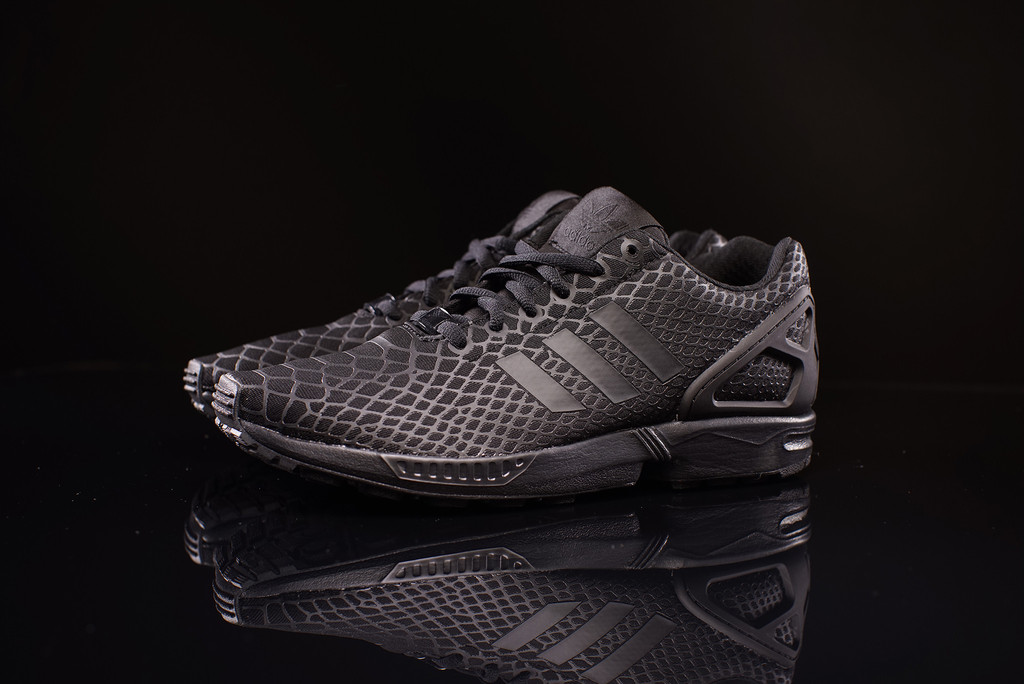 The adidas Originals ZX Flux Techfit Likes Snakeskin