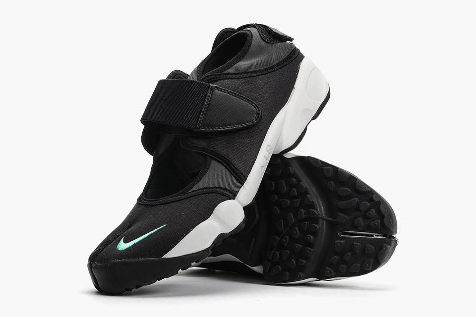 "Nike Releases Air Rift in Clean ""Black Menta"" •"
