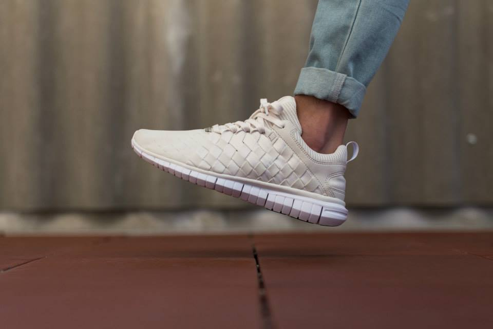 in stock 45b06 965f7 Last seen in various shades of Blue, the popular Nike Free OG  14 Woven is  rendered in more neutral palette, officially listed as Phantom White for  its ...