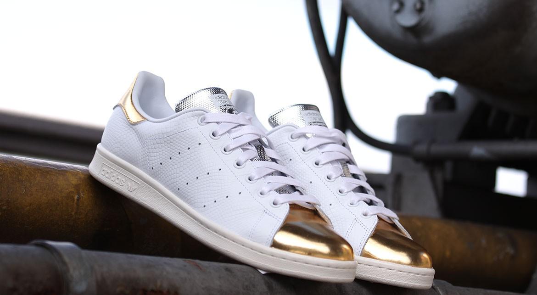 adidas originals stan smith gold
