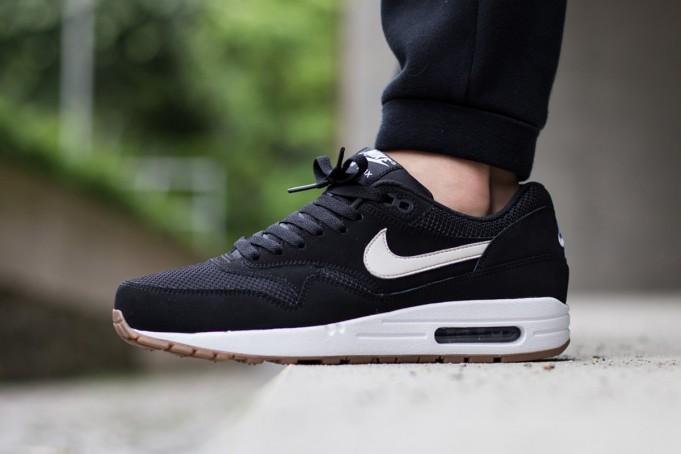 """Nike Air Max 1 Essential """"BlackWhite Gum"""" •"""