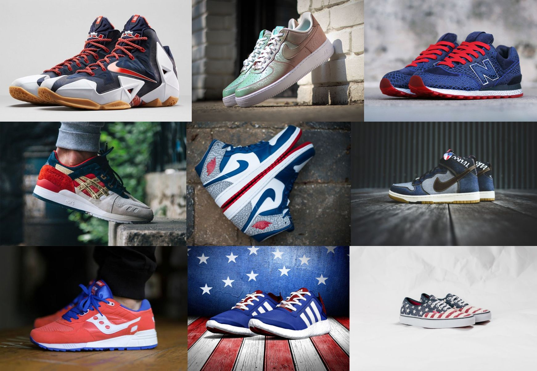 10 Kicks To Wear On The 4th Of July