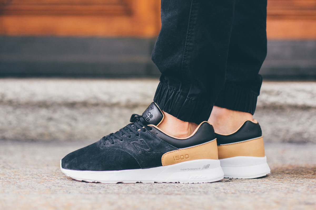 """newest 2762c 37809 Now Available: The New Balance MD1500 """"Black/Tan ..."""