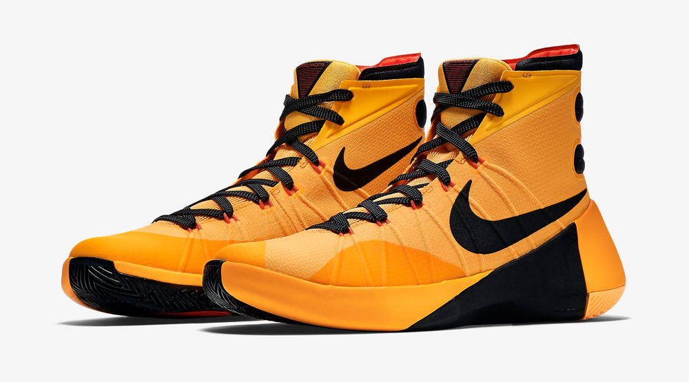 reputable site 190ee 90906 Black   Yellow For the New Nike HyperDunk 2015
