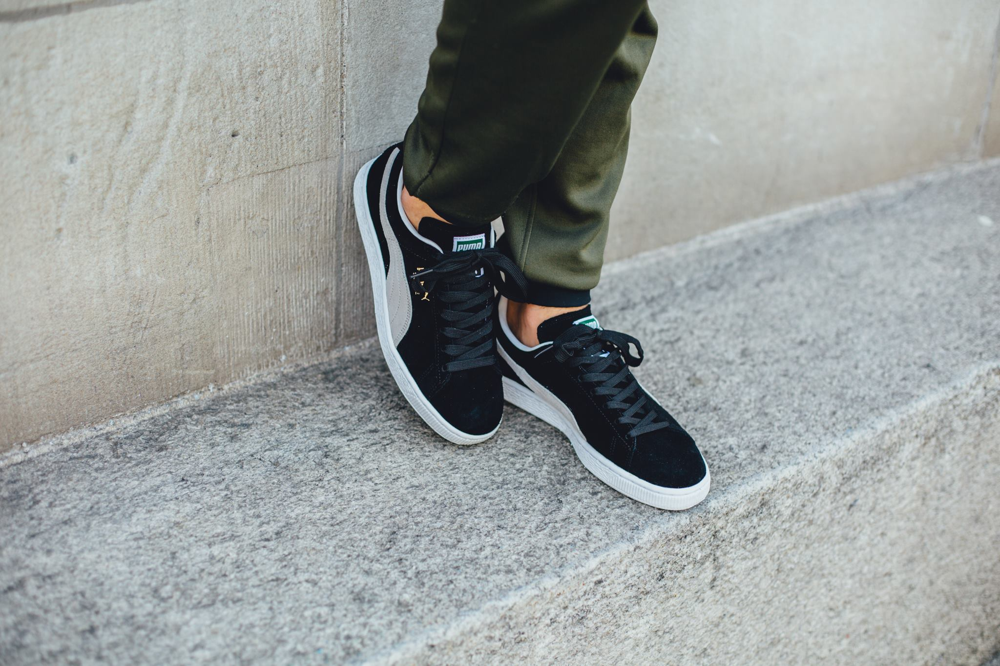 It Can't Get Anymore Classic Than This Puma Suede In Black