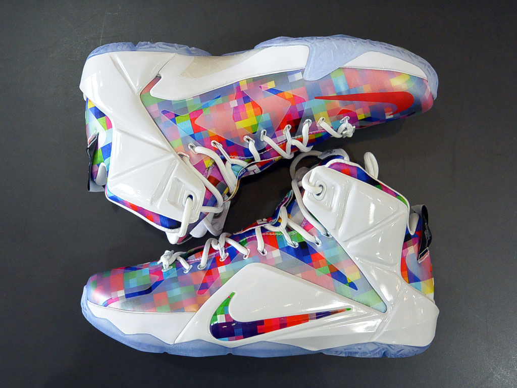 super popular aaceb e1636 The latest colorway of the Nike LeBron 12 EXT finally has a release date.  This colorful rendition of The King s 12th signature sneaker will be  arriving at ...