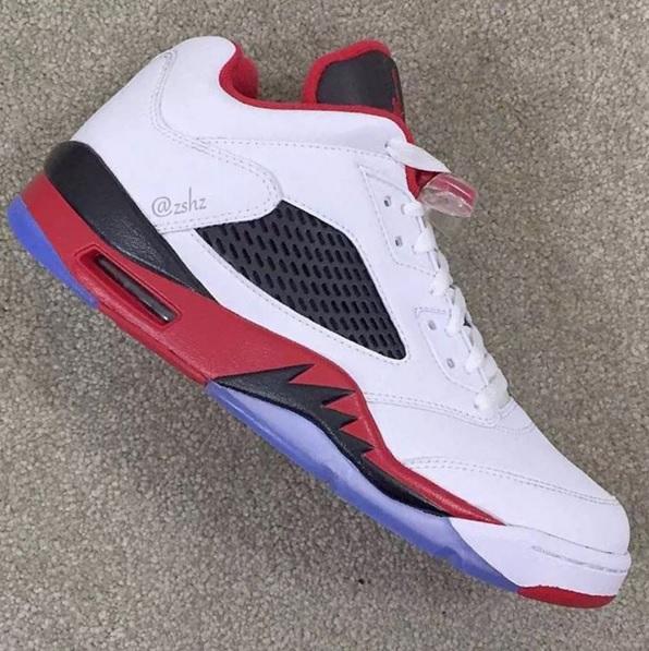 new concept ff65a 9f6be Air Jordan 5 Low Fire Red • KicksOnFire.com