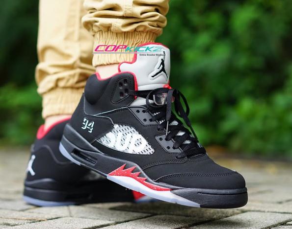 Supreme x Air Jordan 5 | #copcopcop