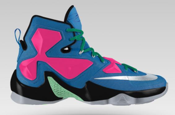 Customize You Very Own Nike LeBron 13