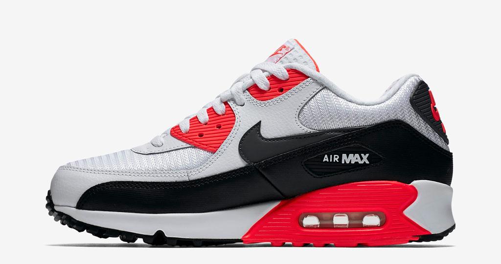 nike air max 90 nero infrared