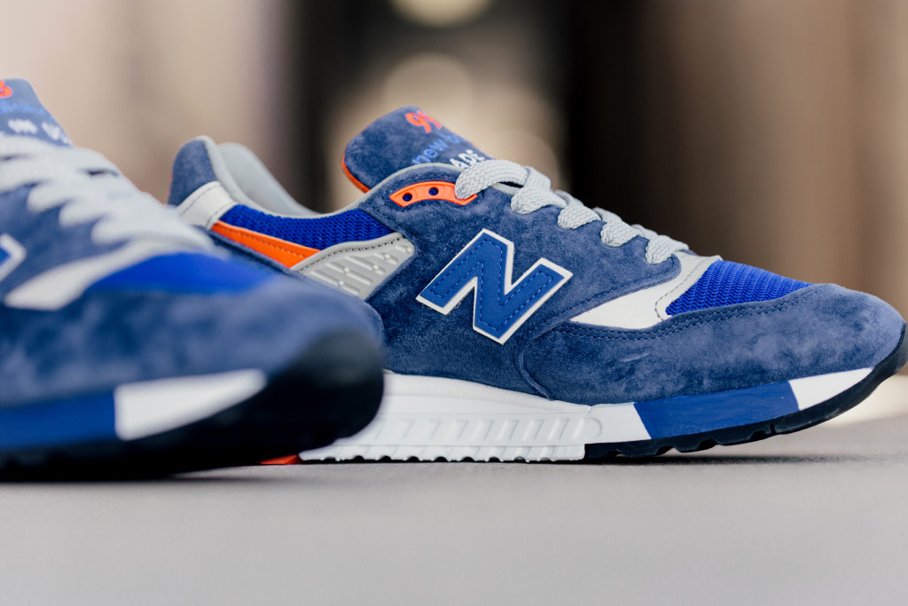 lowest price 86a82 d21f2 Orange Accents This New Balance 998