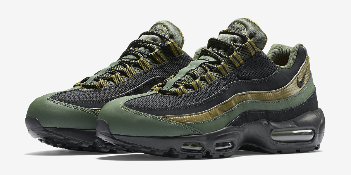sneakers for cheap 57607 3f2c6 Military Vibes on This Nike Air Max 95