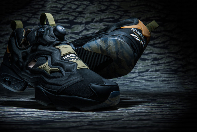 """newest 43dc7 d6270 Reebok is set to drop a trio of the Reebok Instapump Fury OG SYN that will  make up the """"Tiger Camo"""" pack. The pack will be offered in three different  ..."""