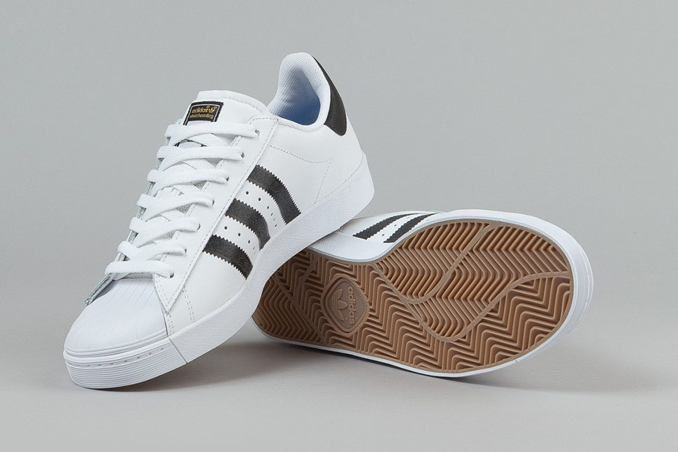 quality design d7a68 7f7a5 The adidas Superstar Vulc ADV Features a Slimmer Sole and ...