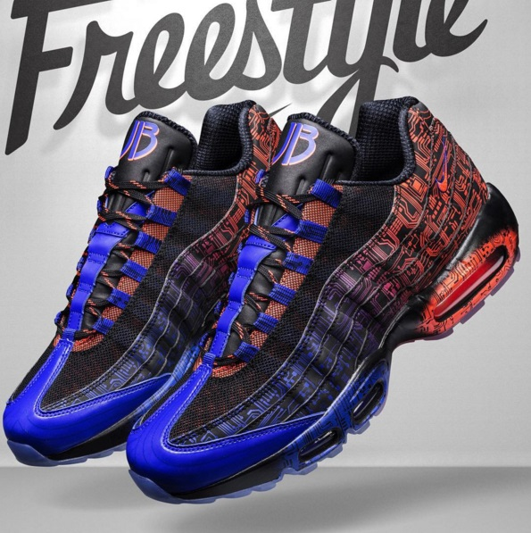 separation shoes c5189 d9a4e Also included in the 2015 Doernbecher Freestyle Collection is the Nike Air  Max 95.