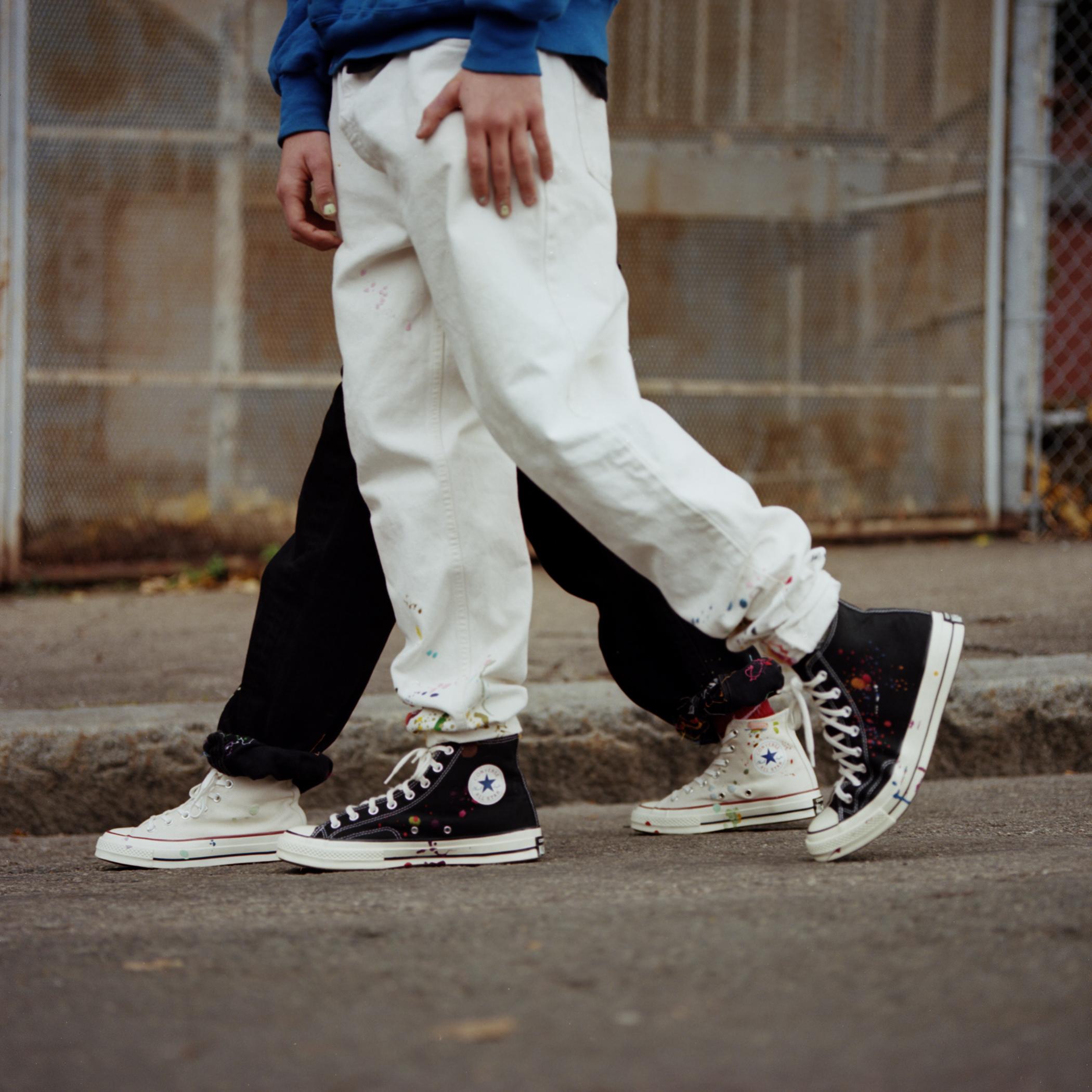 converse 70s on feet