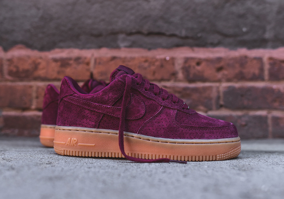 The Women Can Pick Up The Nike Air Force 1 With Suede Uppers ...
