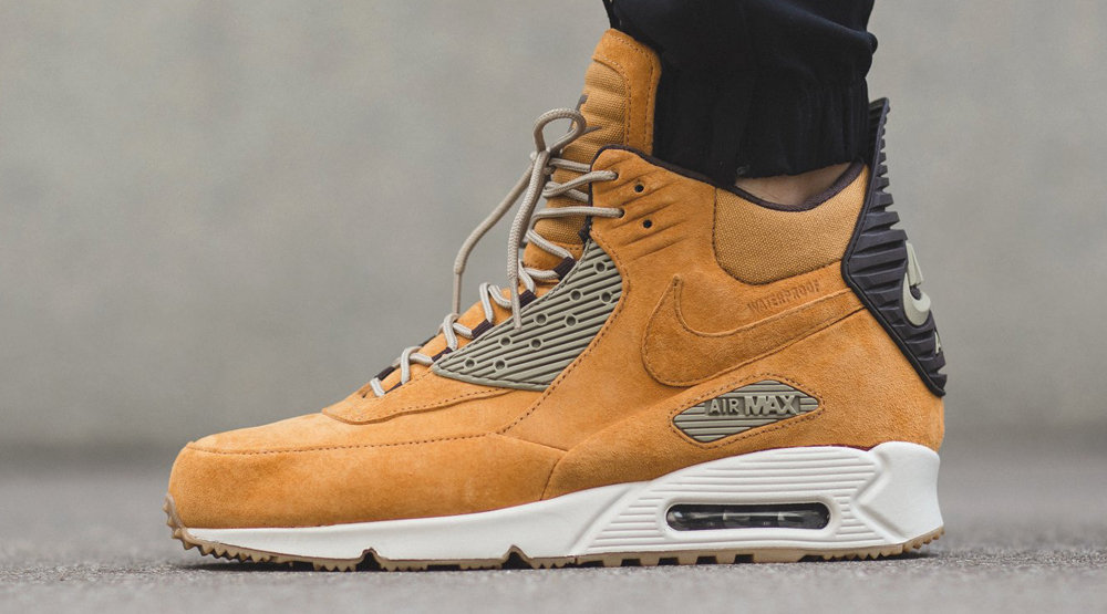 Nike Gives Us A 'Wheat' Air Max 90 Sneakerboot •