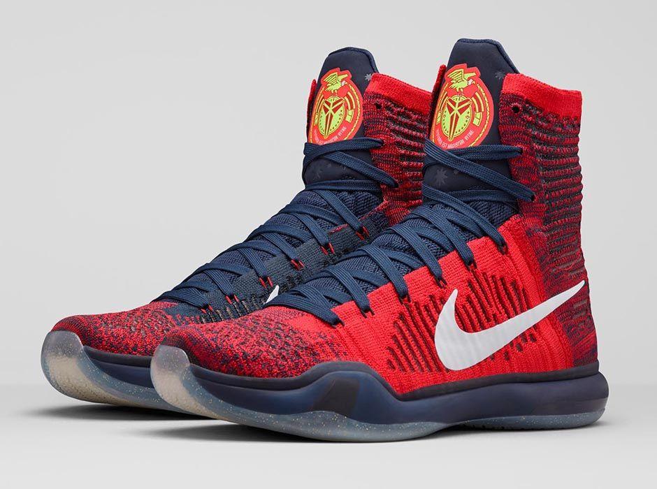 official photos bae36 1f5b6 Nike Kobe 10 Elite High University Red
