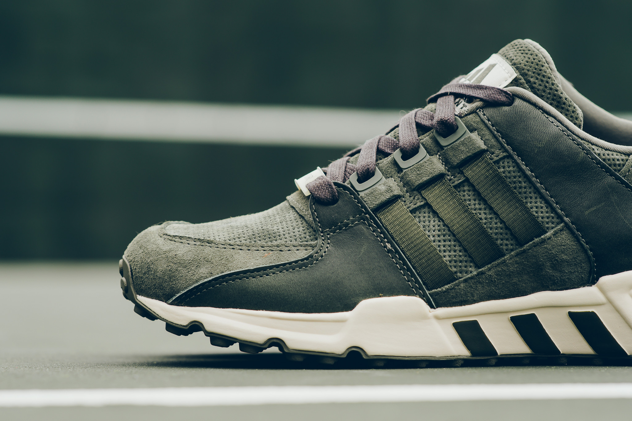 check out 0d899 f7f38 Olive Covers This adidas EQT Running Support 93 ...