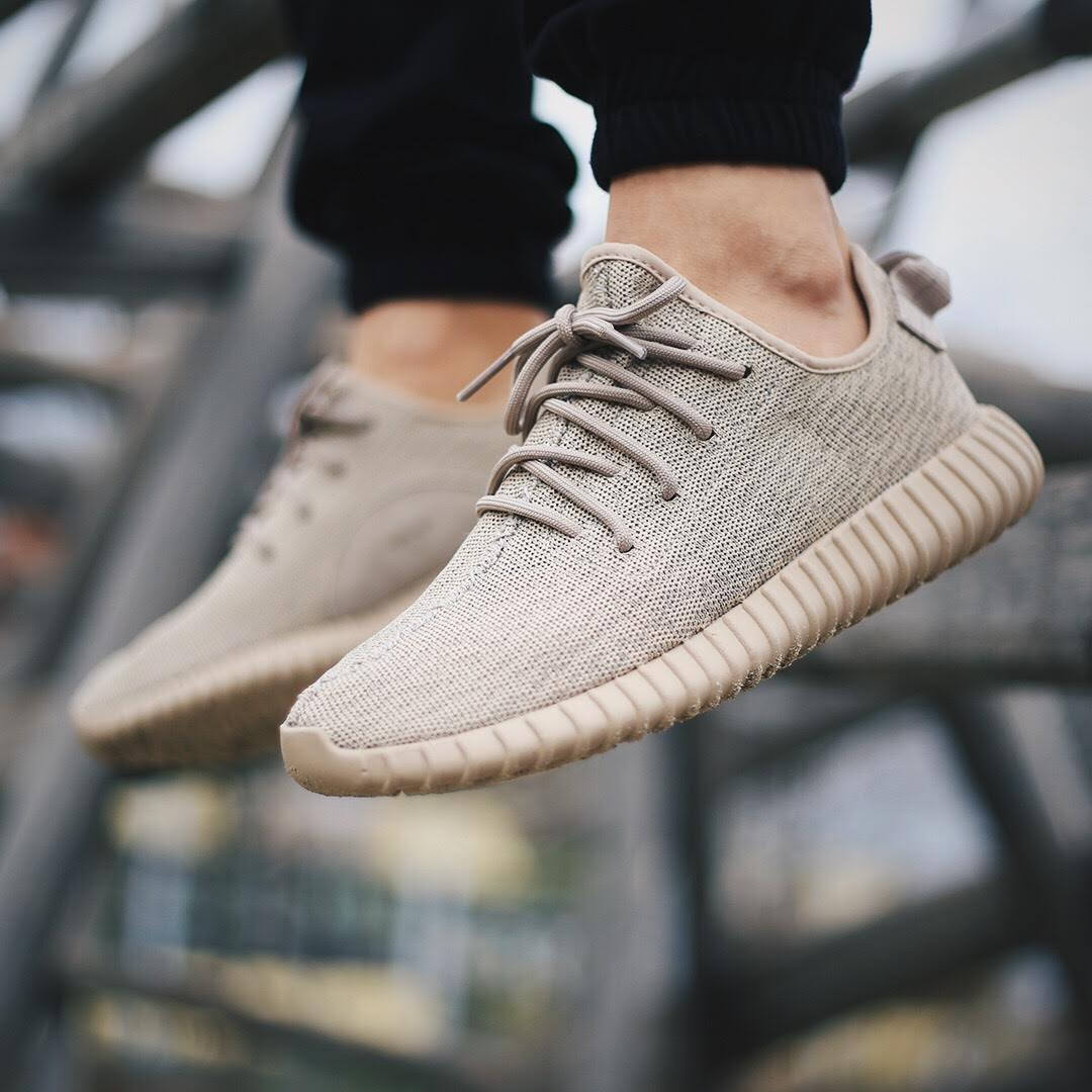 On Feet Images Of The adidas Yeezy Boost 350 Oxford Tan