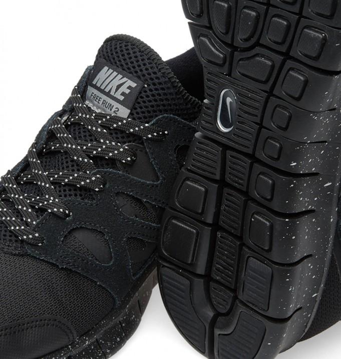 primer nivel nuevo lanzamiento calidad y cantidad asegurada Get The Classic Look With The Nike Free Run 2 Black/Metallic ...