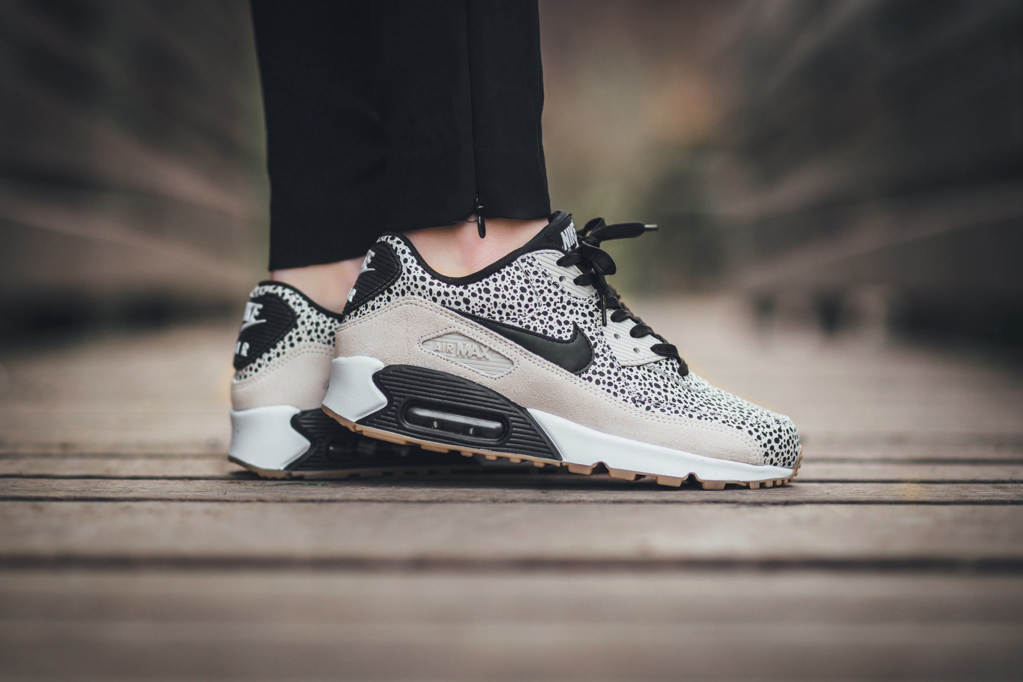 Monochromatic Safari On The Nike Air Max 90 Premium ...