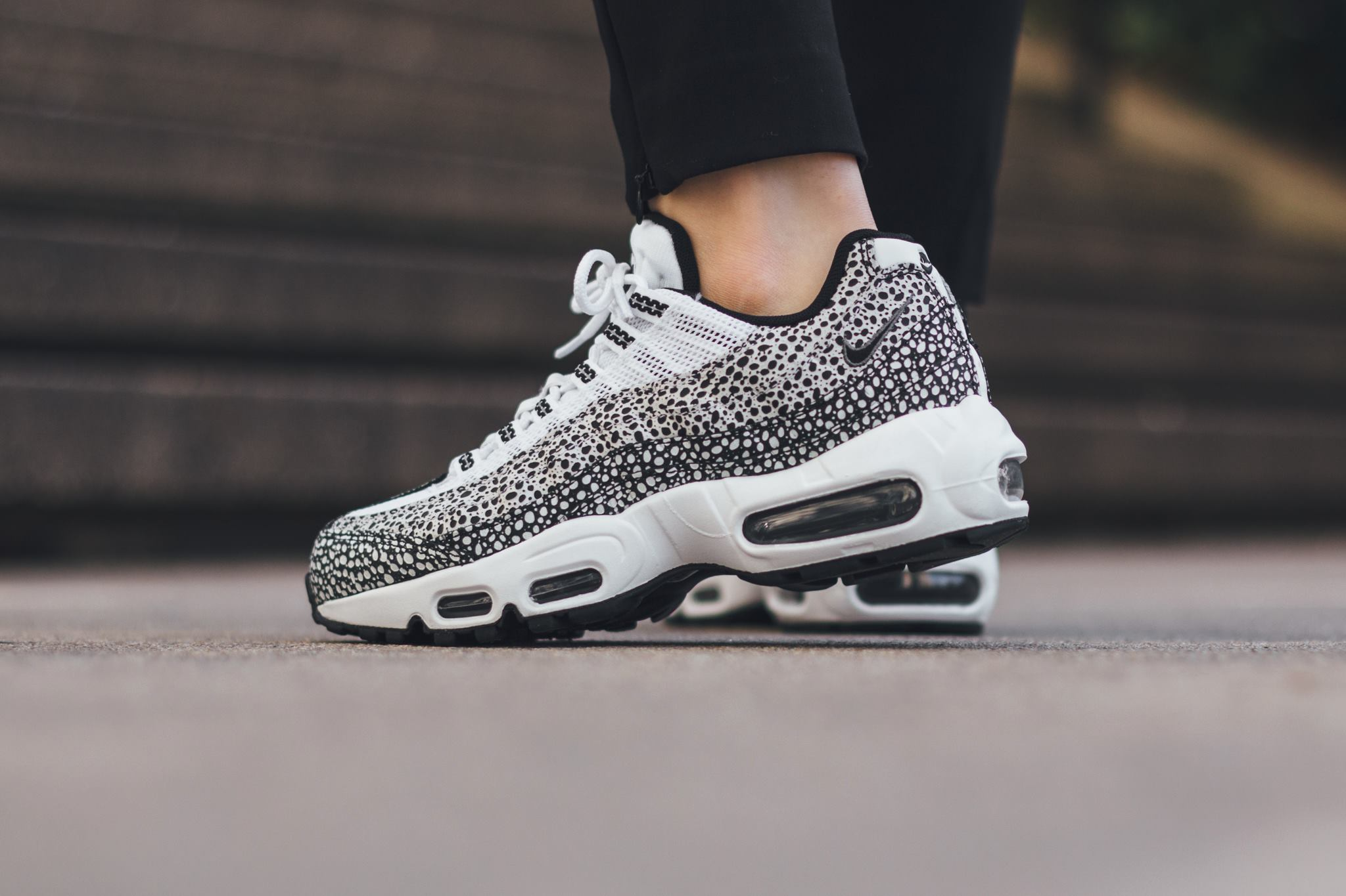 san francisco 67116 f311a With its last notable release being a collaboration with Stussy, the Nike  Air Max 95 is rendered in yet another Safari option this season.