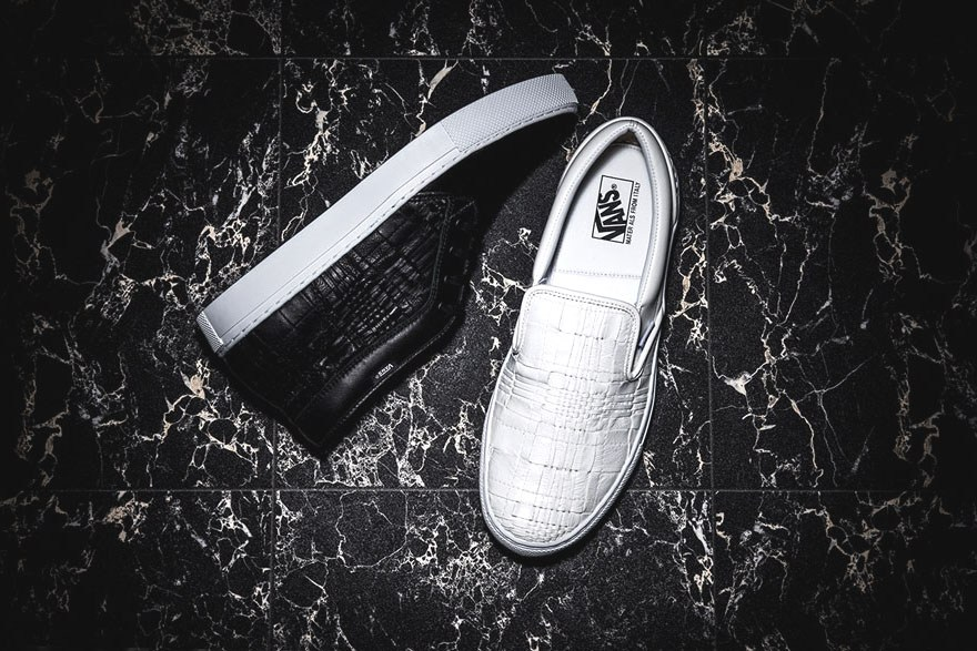 The Vans Japan Woven Leather Pack Is Premium Quality At It