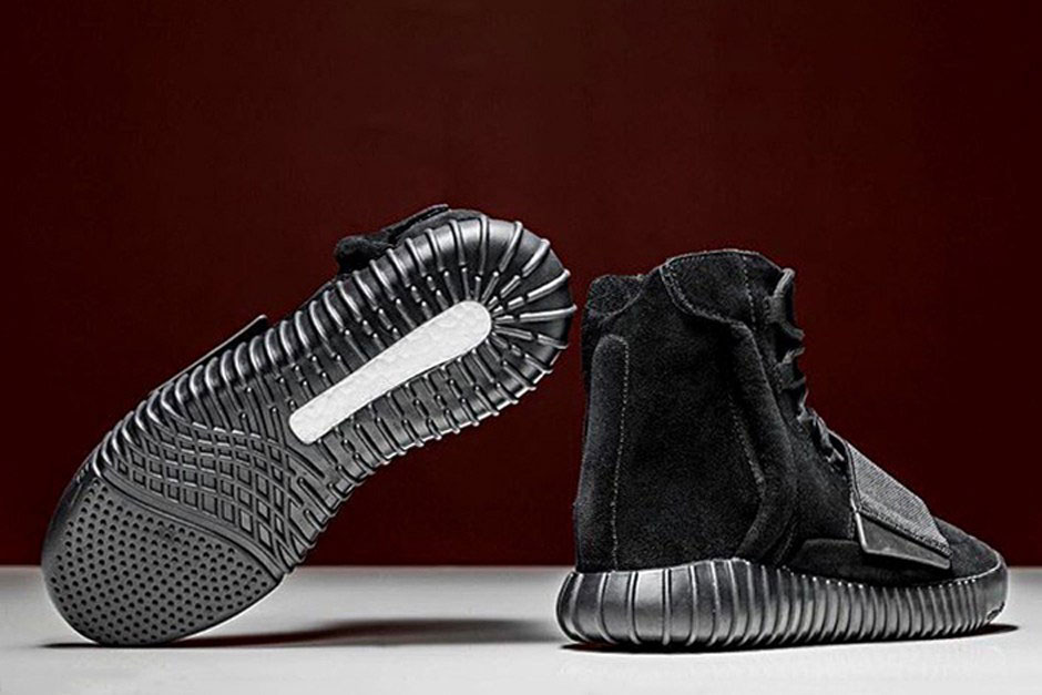 Adidas Confirms 'Blackout' Yeezy 750 Boost Release | Sole