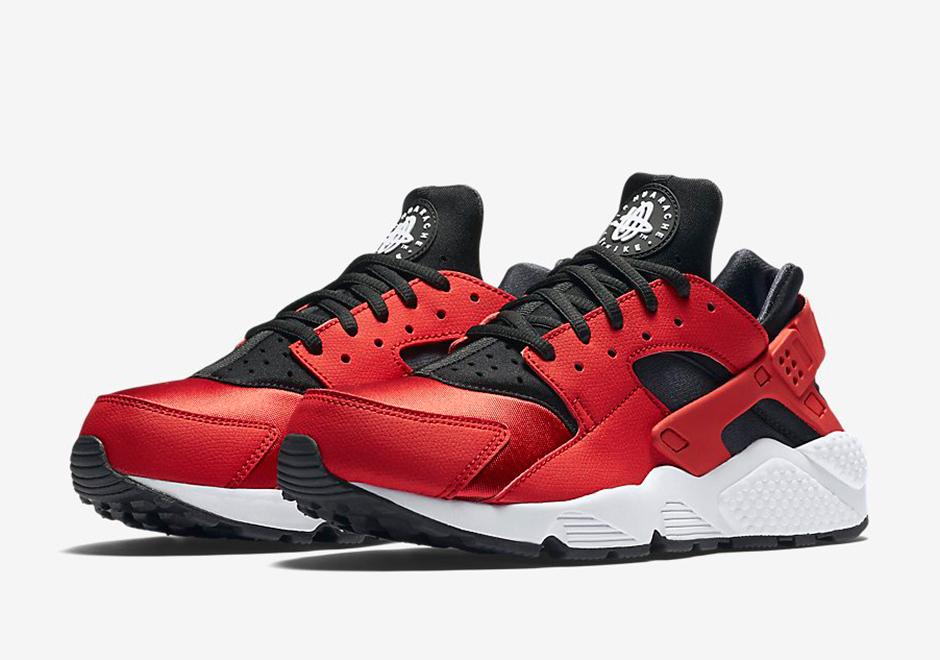 Red Vibes On The Nike Air Huarache Run