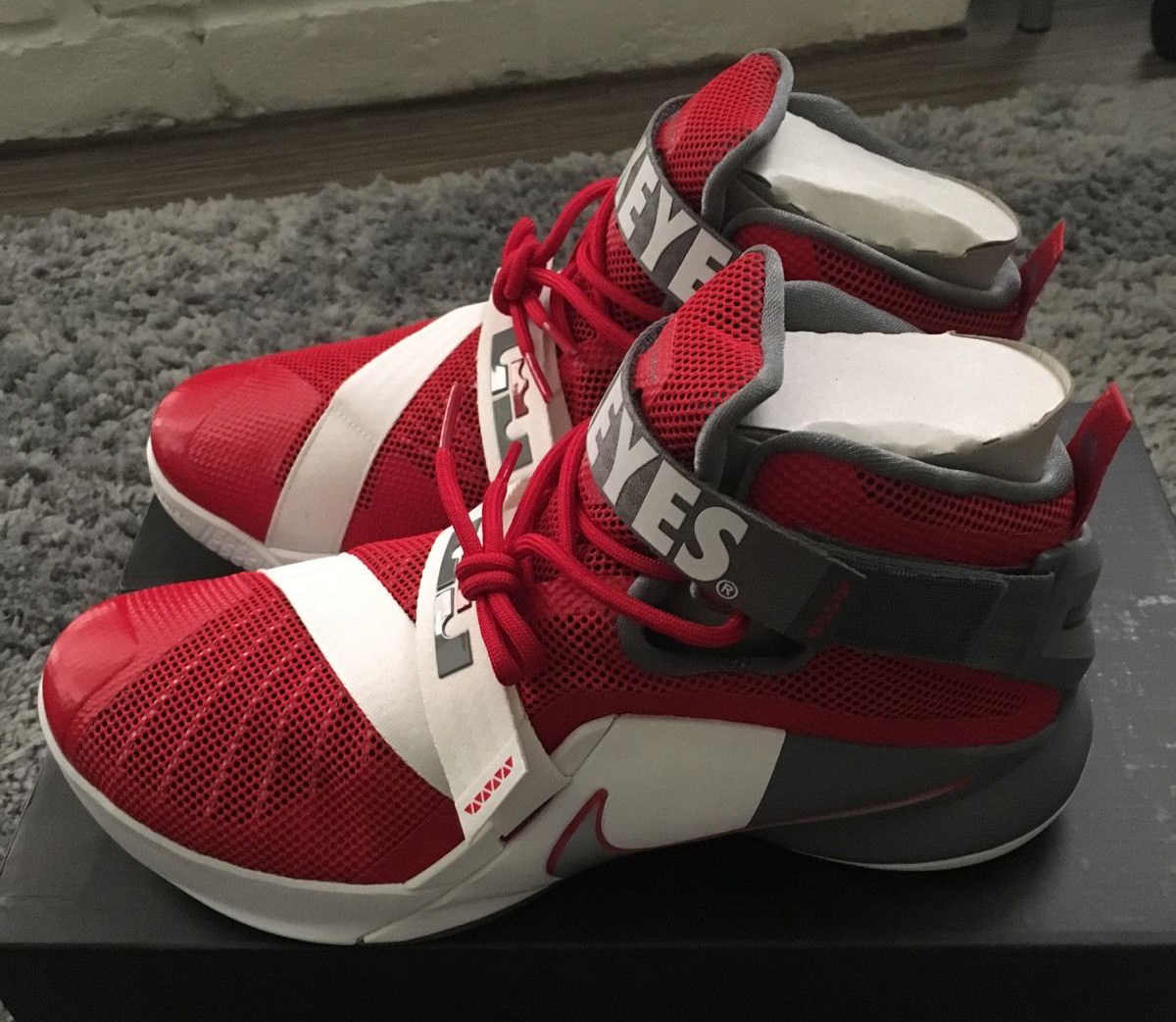 new concept 3c45b e6649 The Buckeyes Get Their Own LeBron Zoom Soldier 9 ...
