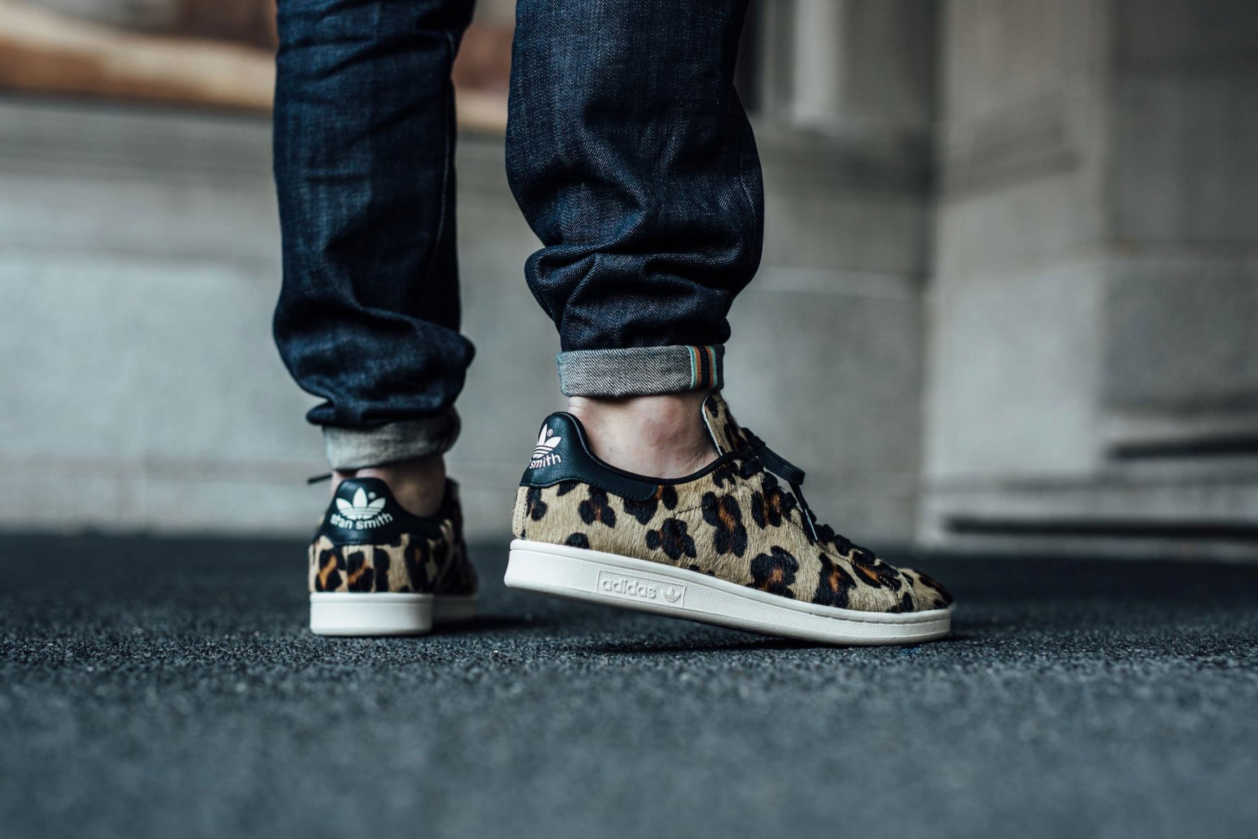 Leopard Pony Hair Arrives On The adidas Originals Stan Smith ...