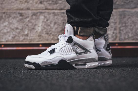 vendetta mancanza di respiro arrossire  Nike Air Jordan 4 OG '89 Retro - White Cement • KicksOnFire.com