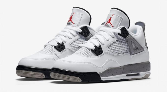 the latest 7a6e1 303ef Buy, Pass, Wait: Air Jordan 4 White/Cement, Nike Air ...