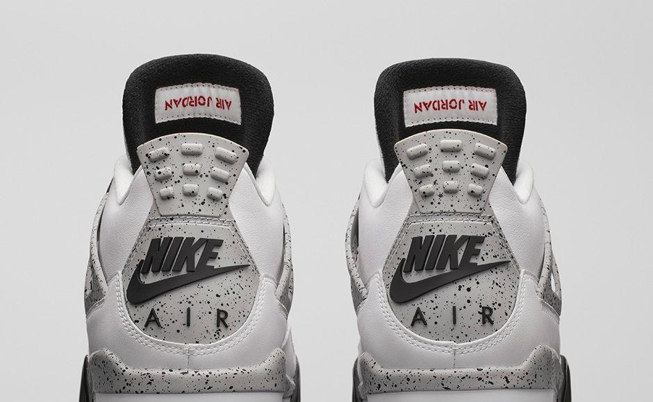quality design 9397f 1db03 Nike Air Jordan 4 OG '89 Retro - White Cement • KicksOnFire.com