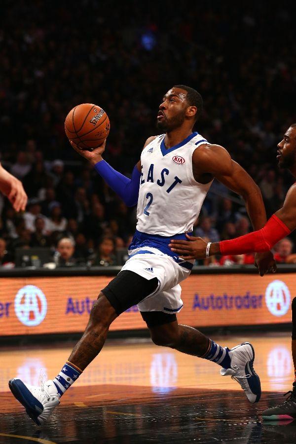 low priced c46e1 a89b7 NBA Kicks On Fire: John Wall Rocks Air Jordan 12 French Blue ...